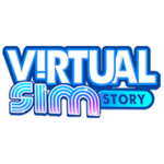 VIRTUAL-SIM-STORY Logo