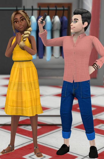 Virtual Sim Story